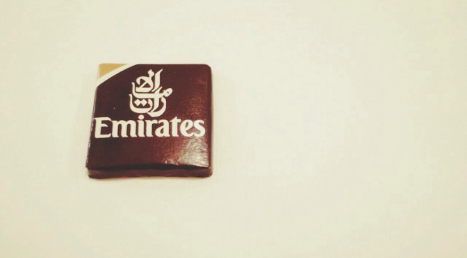 Emirates chocolate