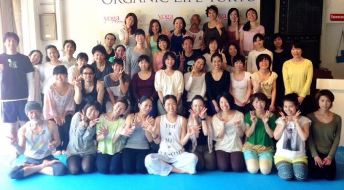 ORGANIC LIFE TOKYO終了!