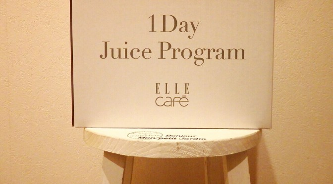 1Day CLEANSE by ELLE cafe