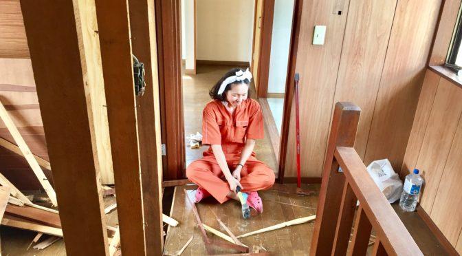 DIY女子ではなくて、本気で大工仕事!