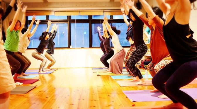 Heart Yoga Week on January 2016