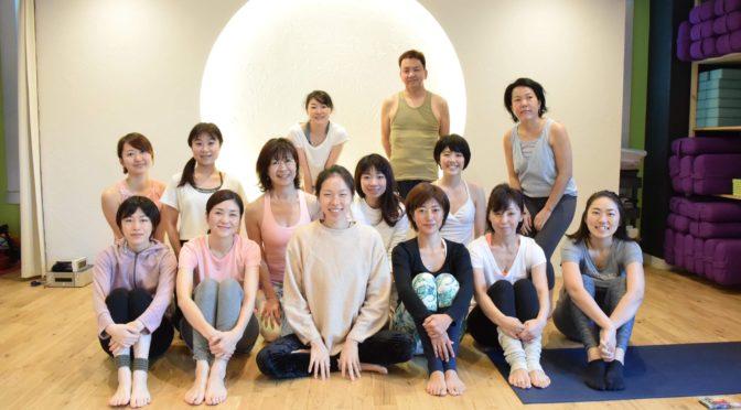 【大阪開催終了】3日間の朝の挑戦、朝ヨガ練習会