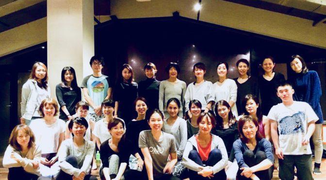 【名古屋開催終了】90分のハタヨガクラス